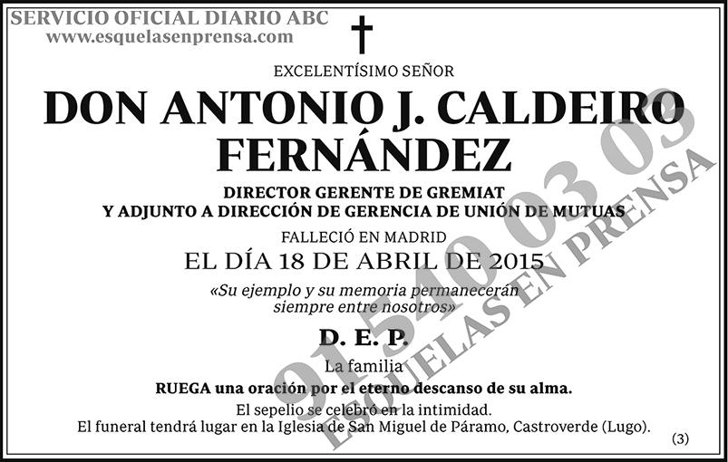 Antonio J.Caldeiro Fernández